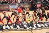 图文-拉拉队热舞全明星单项赛 吉祥物出场