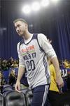 图文-NBA全明星训练 海沃德参加训练