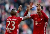 [德甲]拜仁慕尼黑8-0汉堡