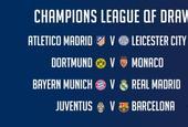 欧冠八强抽签