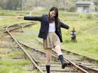 日本清纯美模制服出镜