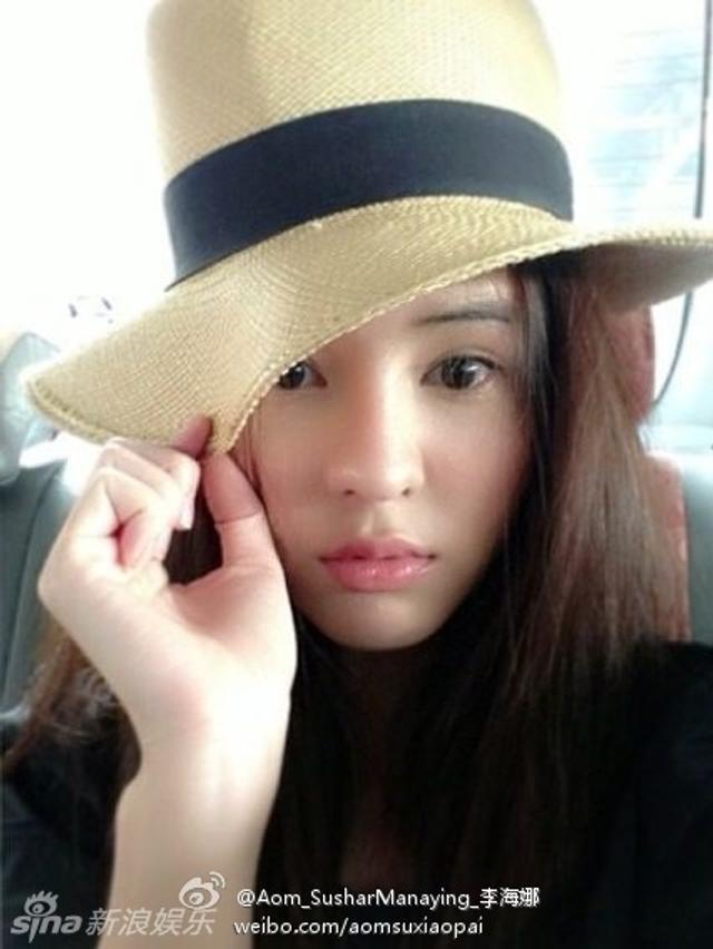 泰国男星Mike承认与前女友之子图片