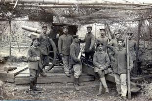 第一次世界大战的炮兵
