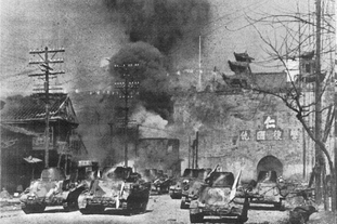 中日两军的南京保卫战