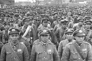 淮海战役的国民党军队