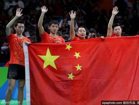 中国军团金牌盘点