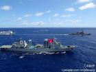 中美战舰组混编联合舰队