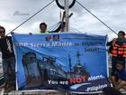 菲律宾志愿者再赴仁爱礁
