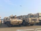大批国产陆战装备来到珠海