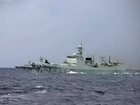 052D用实力还击美国军舰挑衅