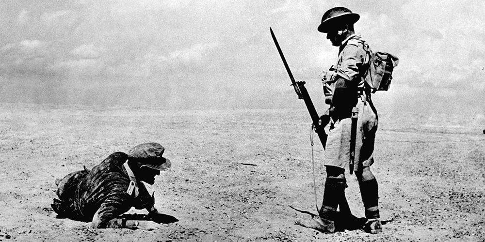北非战役:燃烧的沙漠