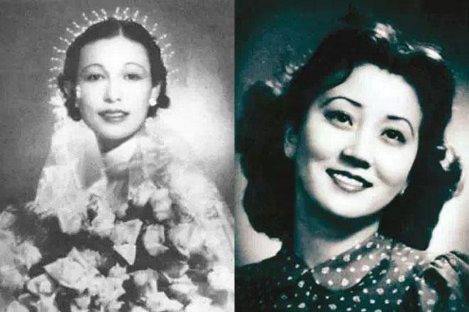 老照片:民国时期的美女名媛
