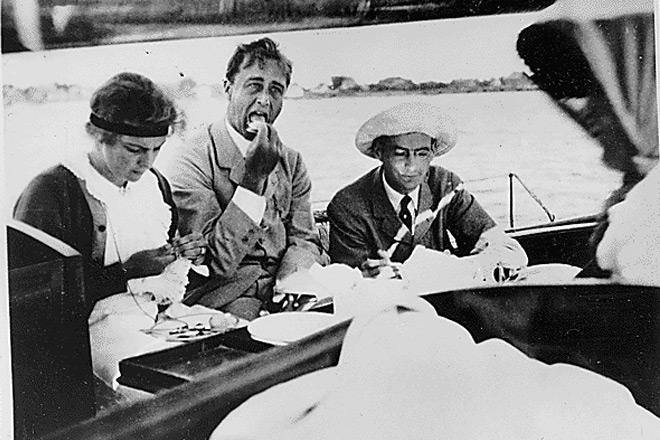 罕见照片:二战领袖们战争之外的生活