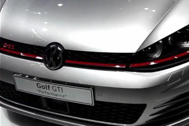 视频:胖哥带你看车展 高尔夫GTI