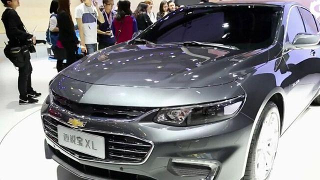 视频:2015广州车展热点新车之新迈锐宝