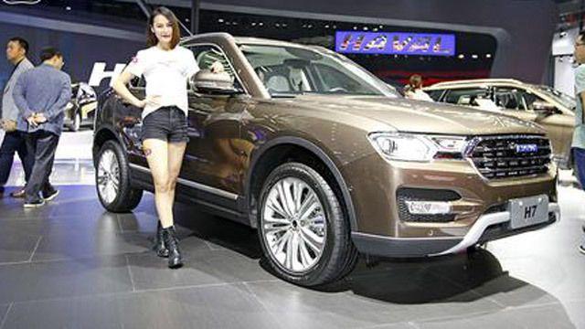 视频:2015广州车展热点新车长城哈弗H7