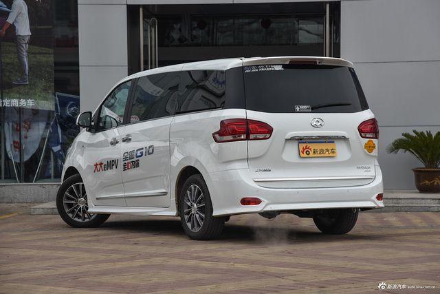 限时促销 上汽大通G10新浪最高优惠0.95万
