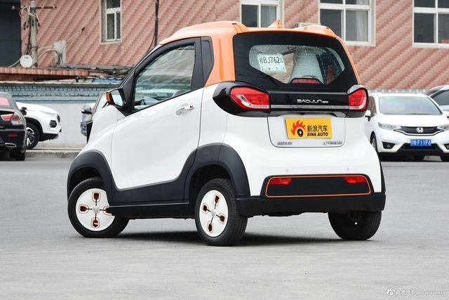 4月新浪报价 宝骏E100新能源南宁最高降4.59万高清图片