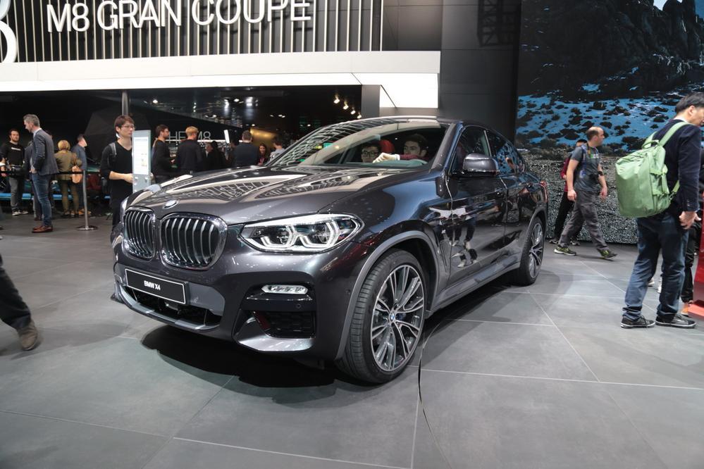 日内瓦车展 新一代宝马X4发布