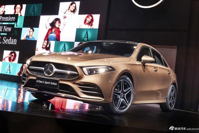 实拍|奔驰全新A级三厢车 专为中国市场打造-图片1
