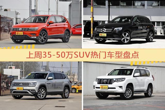 35-50萬SUV車型上周熱度排行揭曉,途觀領跑-圖片1