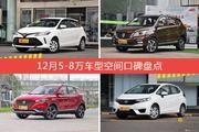 威驰FS/宝骏560等,12月5-8万车型空间口碑汇总