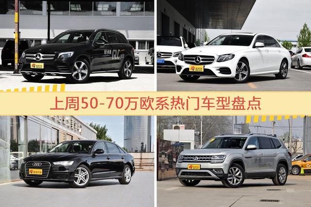 50-70万欧系车型中,奔驰GLC级关注度最高-图片1