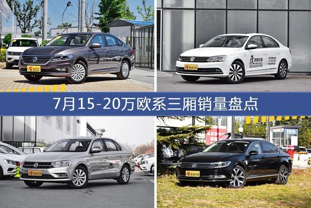 7月15-20万欧系三厢车型销量数据揭晓,用户愿意为哪些车买单?-图片1