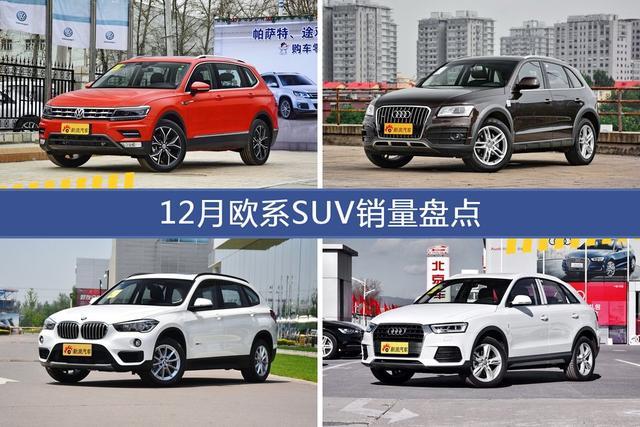 12月欧系SUV车型销量数据揭晓,用户愿意为哪些车买单?-图片1