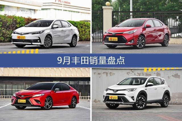 2018年9月丰田销量数据,卡罗拉受青睐-图片1
