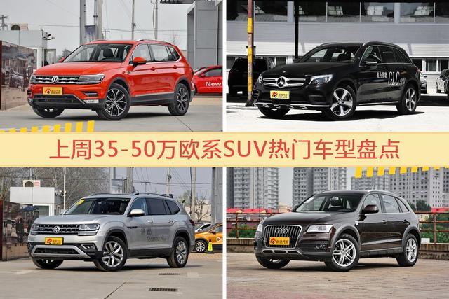 35-50万欧系SUV车型中,途观关注度最高-图片1