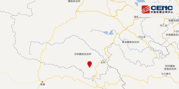 青海玉树州囊谦县发生3.5级地震 震源深度8千米