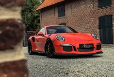 保时捷911 GT3RS,从名字的长度上就知道是钱花到位了的感觉