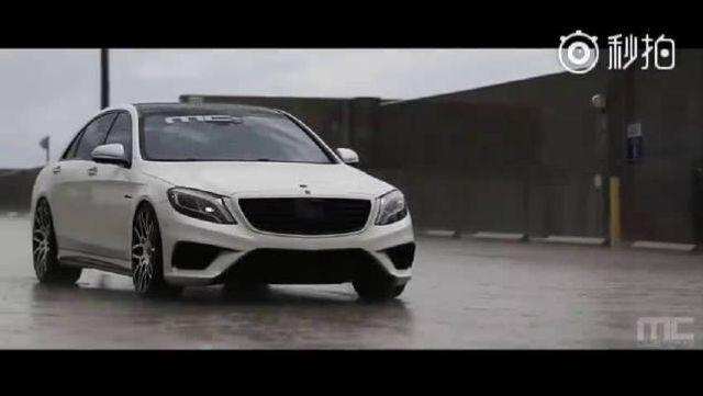 视频:奔驰S63配Forgiato轮毂,视觉感就是强大