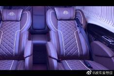 全球首发的迈巴赫,搭配蒙娜丽莎座椅的威霆改装款
