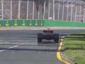 视频-2017F1澳大利亚站正赛 里卡多暖场圈抛锚