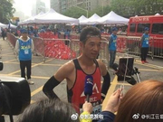 2018武汉马拉松半马冠军诞生 系第二次参加汉马半马