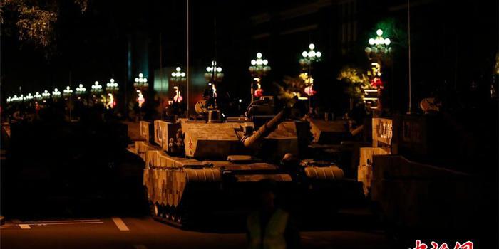 国庆庆典将在天安门广场举行 受阅部队陆续就位