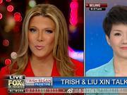 辩论开始了 CGTN女主播应战FOX女主播(图)