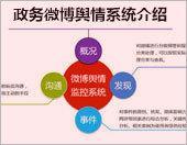 政务微博舆情系统介绍