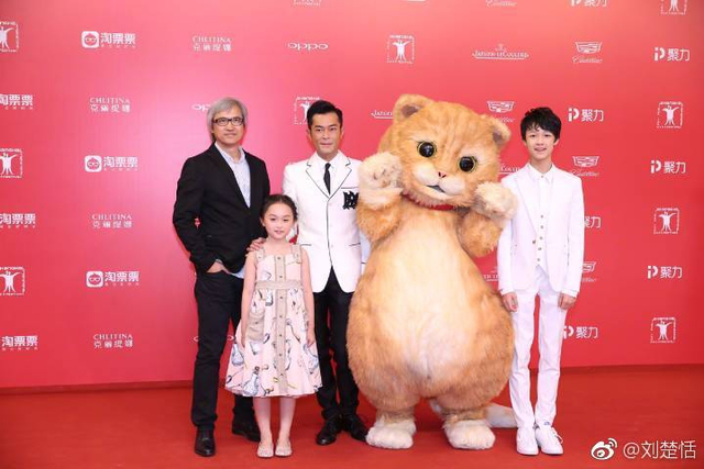 近日,小芈月现身上海国际电影节《喵星人》影展,好久不见的小芈月长高不少,更加圆润可通。
