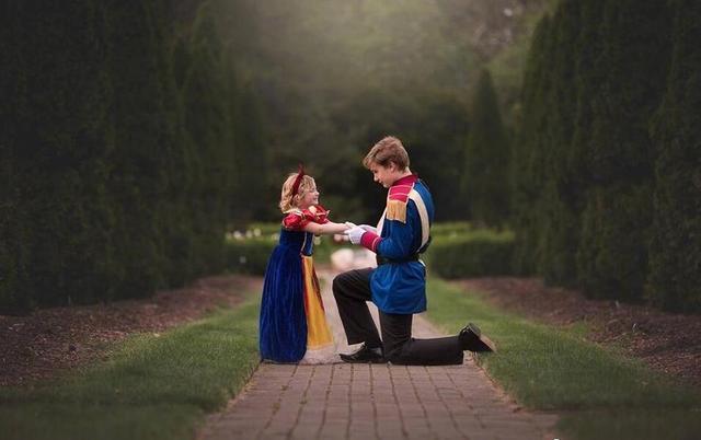 5岁的妹妹喜欢白雪公主