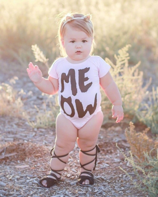 一个萌萌的真人版米其林宝宝,我胖但是我最可爱。