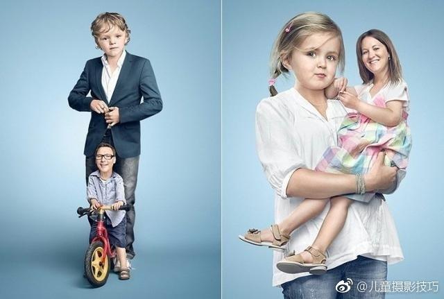 普通的亲子照都拍腻了,有没有尝试来点创意?国外一位摄影师就脑洞大开,将父母和孩子的脑袋互换位置,简直让人笑得掉眼泪。