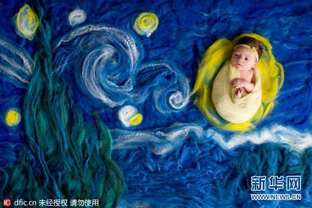 摄影师Lindsay Waldens以拍摄新生宝宝而闻名,她把小宝贝放在了世界名画当中拍摄,拍摄出来的作品除了萌翻外,简直毫无违和感。拍摄睡梦中的宝宝对常人而言看起来有些困难,但Lindsay对此似乎很有一套。当然,Lindsay也承认拍摄新生儿是有些许困难的,因为在2到4个小时的拍摄过程中,宝宝们通常不是要嘘嘘就是要便便。