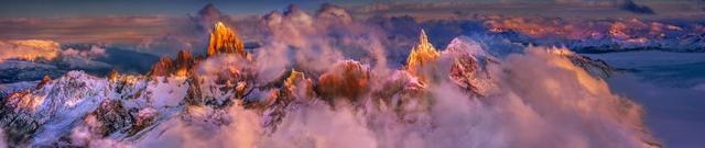 今年4月我在智利巴塔哥尼亚高原,航拍了一组史诗般的山脉与秋色【图文:新浪博客@好摄之徒罗红】