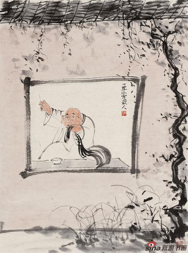 林海钟,号卧霞散人、钱塘后来生,林泉阁主人。现居钱塘西湖之畔,为中国美术学院国画系教授、博士生导师。中国美术学院书画鉴定中心副主任。
