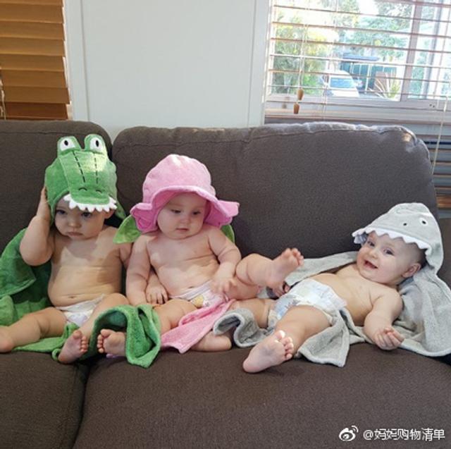 可爱的三胞胎生活照,长得萌萌的,非常乖巧可爱,但是,但这三只捣蛋起来,就像小恶魔一样啦啦啦~