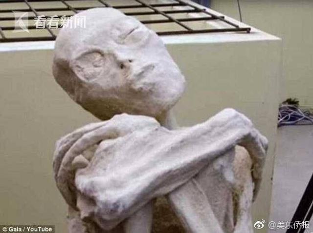 """去年,墨西哥UFO研究员杰米·穆森声称他在秘鲁沙漠之中发现5具距今1700年历史的""""三指三趾""""木乃伊,此事引发不少争议,被科学界斥为骗局。不过近日,俄罗斯科学家科洛特科夫发表声明,公开断言这些木乃伊经DNA测试,结果为非人类,而是外星人。"""