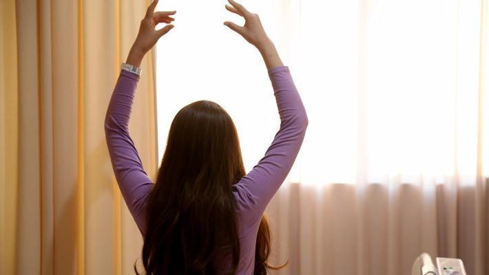 白血病化疗女孩 不放弃舞蹈梦